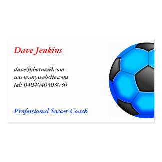 Colourful Soccer Balls Pack Of Standard Business Cards