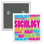 Colourful Sociology Pin
