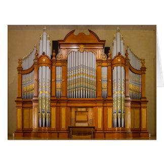 Colourful South Australian pipe organ Big Greeting Card