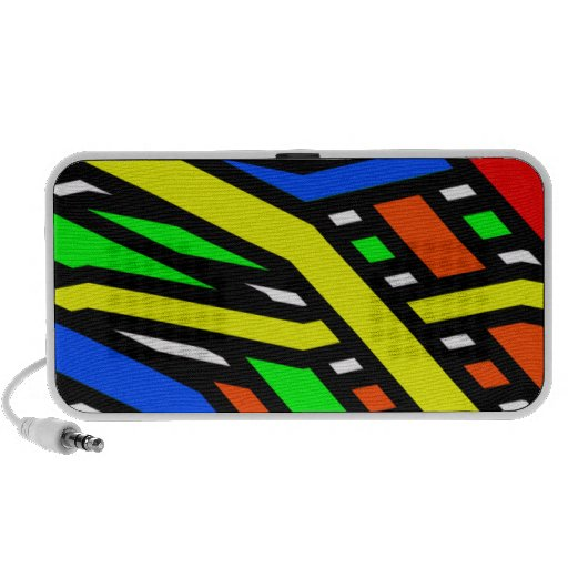 Colourful Spaghetti Notebook Speaker
