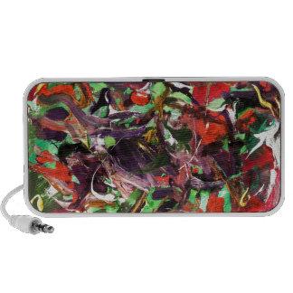 colourful iPod speaker