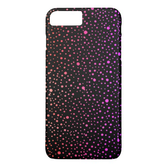 colourful speckled pattern iPhone 8 plus/7 plus case