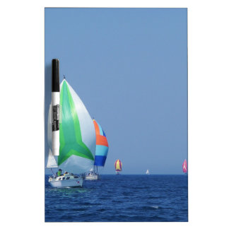 Colourful Spinnakers Dry Erase Board