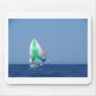Colourful Spinnakers Mouse Mat