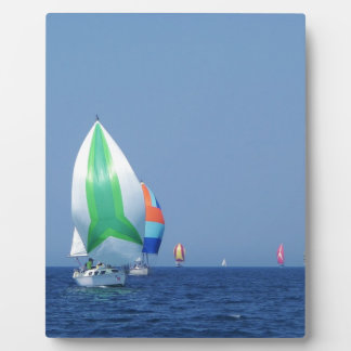 Colourful Spinnakers Plaque