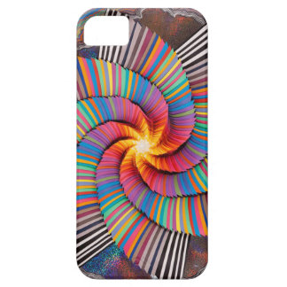 Colourful Spiral iPhone SE + iPhone 5/5S Case For The iPhone 5