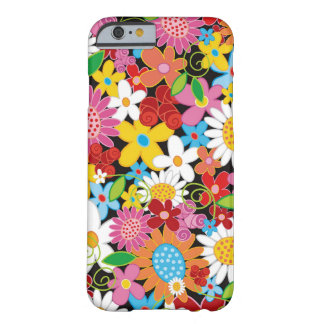 Colourful Spring Flowers Garden iPhone 6 case Barely There iPhone 6 Case