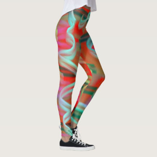 Colourful Squiggles Leggings