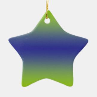 Colourful Star Ornament