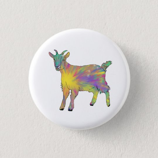 Colourful Starburst Art Goat Funny Animal design 3