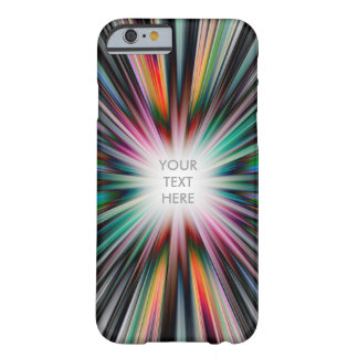 Colourful starburst explosion barely there iPhone 6 case