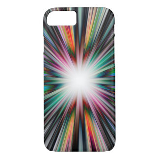 Colourful starburst explosion iPhone 8/7 case