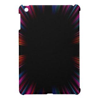 Colourful starburst iPad mini case