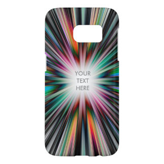 Colourful starburst pattern