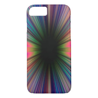 Colourful starburst pattern iPhone 8/7 case