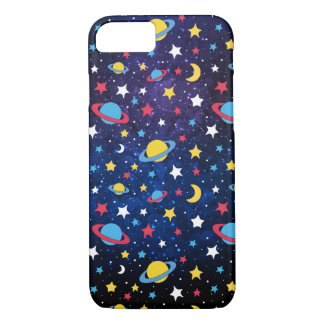 Colourful Stars and planets iPhone 8/7 Case