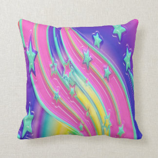 colourful stars cushion