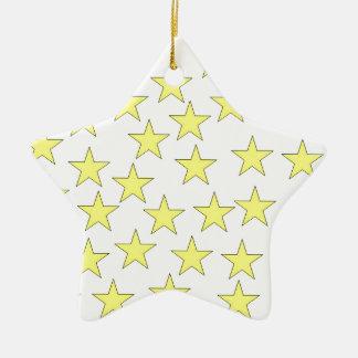 Colourful Stars Ornament
