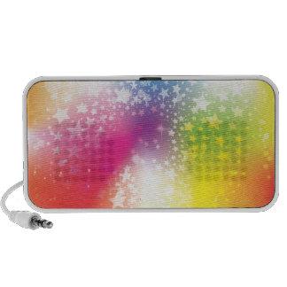 Colourful Stars Travel Speaker