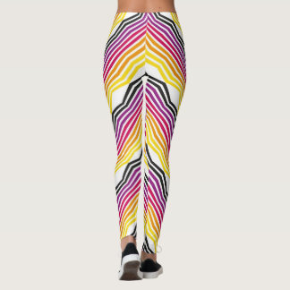 colourful sticks leggings