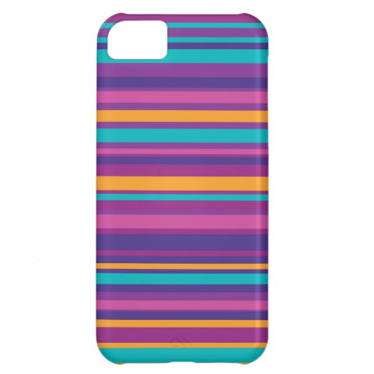 Colourful Stripe Pattern iPhone 5C Case