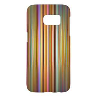 Colourful stripes and blur pattern