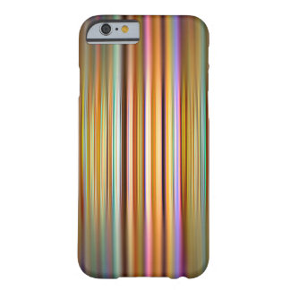 Colourful stripes and blur pattern barely there iPhone 6 case