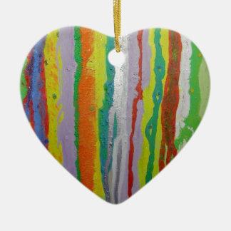 Colourful Stripes Ornaments