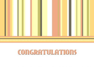 colourful stripes employee anniversary card - Employee Anniversary Cards