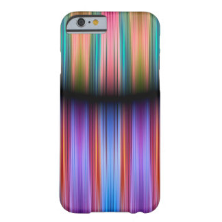 Colourful stripes pattern barely there iPhone 6 case