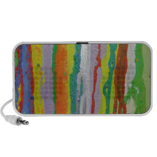 Colourful Stripes iPhone Speakers