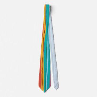 colourful stripes tie