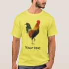 Colourful Strutting Rooster T-Shirt