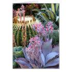 Colourful Succulent Garden Card
