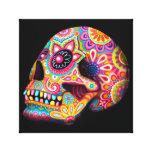 Colourful Sugar Skull Art