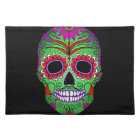 Colourful Sugar Skull Day of the Dead Placemat