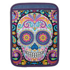 Colourful Sugar Skull iPad Sleeve - Day of the