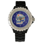 Colourful Sugar Skull Watch - Day of the Dead