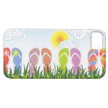 Colourful Summer Flip Flops Fun In The Sun Garden iPhone 5 Case