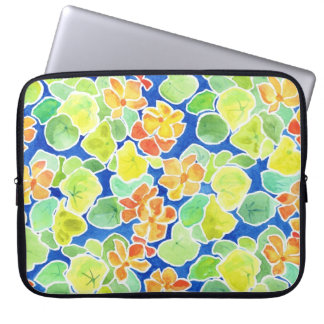 Colourful Summer Flowers Laptop Sleeve