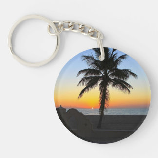 Colourful Sunrise Key Ring