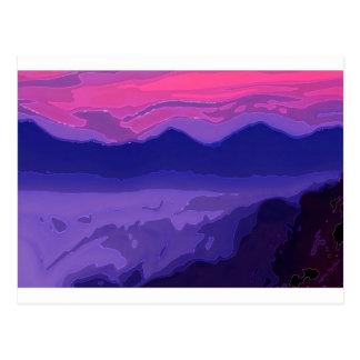 Colourful Sunset Postcard