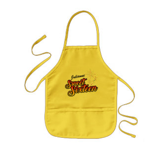 Colourful Sweet Sixteen Kids Apron