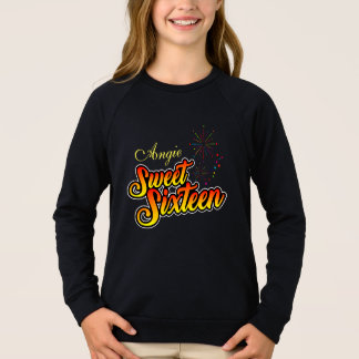 Colourful Sweet Sixteen Sweatshirt