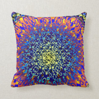 Colourful Textured Look Hearts Design Cushions