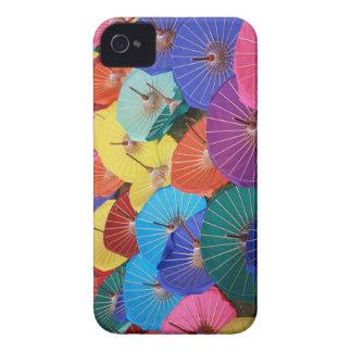 Colourful Thai Parasols - iPhone 4/4S case