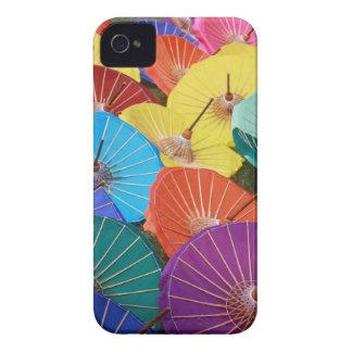 Colourful Thai Parasols - iPhone 4/4S Case-Mate iPhone 4 Cases