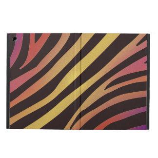 Colourful Tiger Animal Print iPad Air Cover