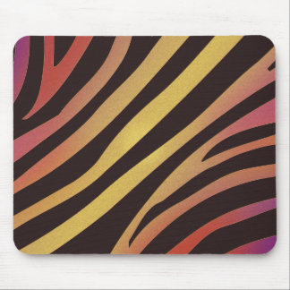 Colourful Tiger Animal Print Mouse Pad