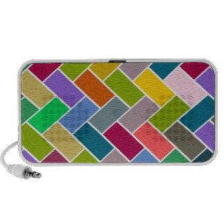 Colourful Tiled Mosaic Pattern Notebook Speaker